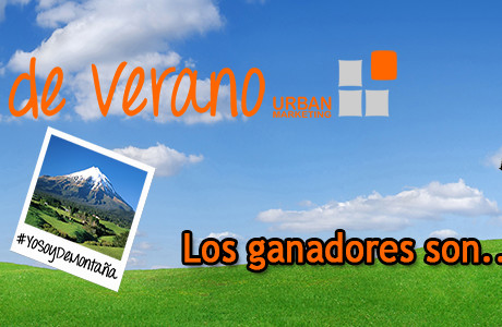 Ganadores del sorteo del verano de Urban Marketing