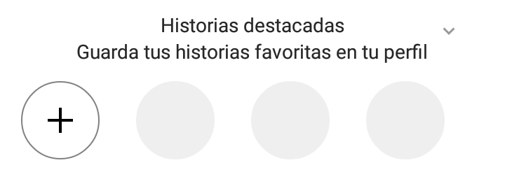 stories highlights guardar tus historias